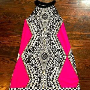 Designed printed light dress 🌸